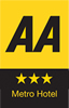 AA Metro 3 star New Forest hotel